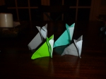 Sims' origami coyotes