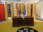 Sims in the oval office