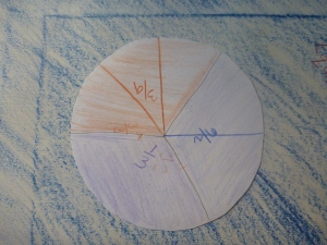 Montessori Fraction Circle
