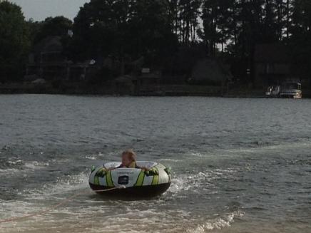 Summer fun-tubing