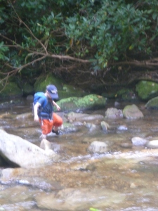 Exploring the Catawba at South Mountain State Park