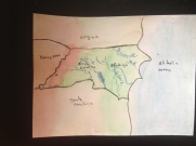 Watercolor of NC