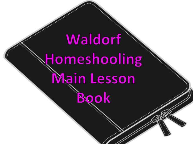 main lesson book