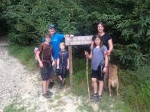 Hikning at Wilson's creek