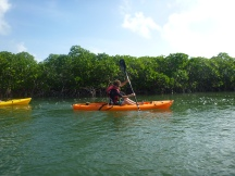 Kayaking in Marathon