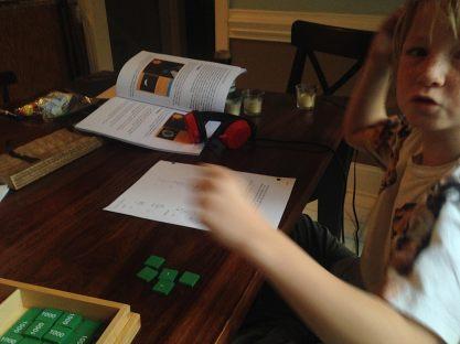 Love our Montessori materials