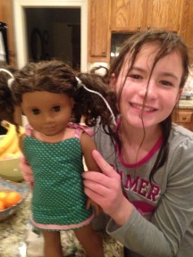 First doll dress