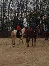 Boys riding!