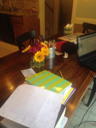 The new normal at the kitchen table