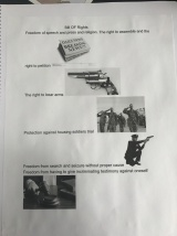 The Bill of Rights with an image