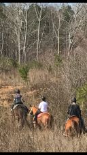 Riding new trails