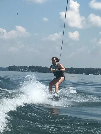 Wakeboarding-grown ups can have fun too!