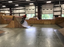 Sims tried out freestyle BMX with Parks
