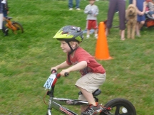 Parks' first race