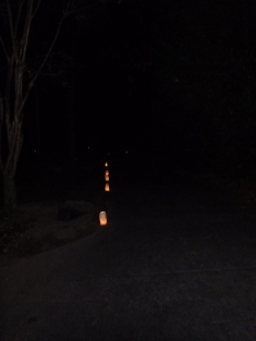 Luminaries to light the way to the spiral