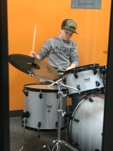Parks in drum lessons