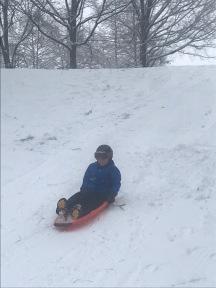 Parks sledding