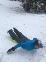 Sims sledding