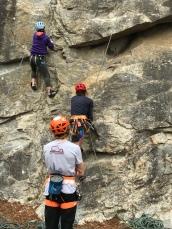 Rescue climbing