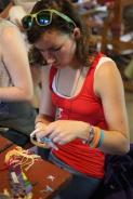 Crafting at camp