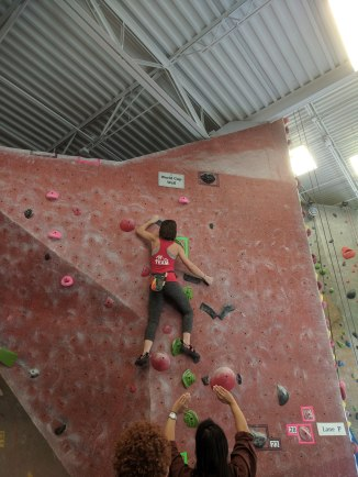 Climbing competition-Sawyer