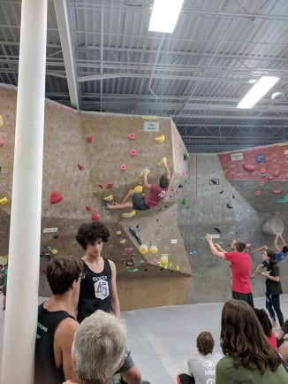 Climbing competition-Sims