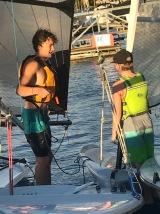 Sailing on Thursday