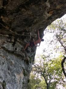 Climbing in Austin