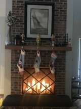Stockings are hung