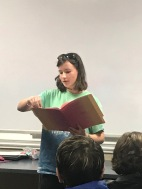 Presenting in class