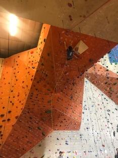 Climbing at Stone Summit