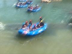 White water center-rafting