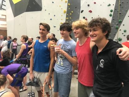 Climbing divisions