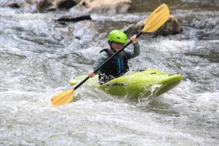 Kayaking camp