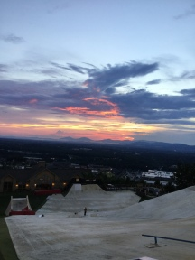 Sunset at Liberty Snowflex