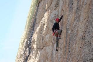 Climbing in Yosemite