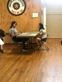 Job interviews at co-op
