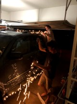 Adding lights to the car