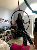 aerial hoop!!