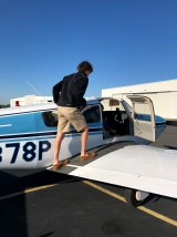 First flight in a small aircraft